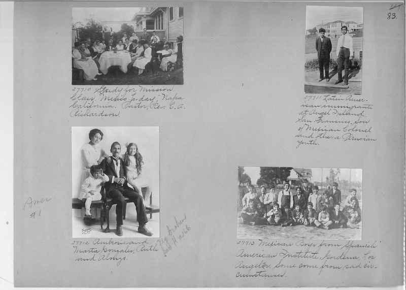 Mission Photograph Album - America #1 page 0083