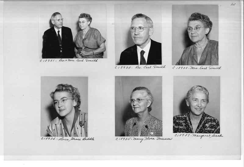 Mission Photograph Album - Portraits #08 Page 0115