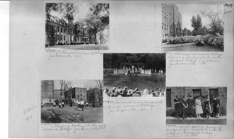 Mission Photograph Album - Education #1 page 0219