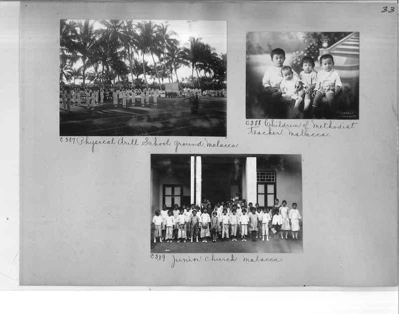 Mission Photograph Album - Malaysia #7 page 0033