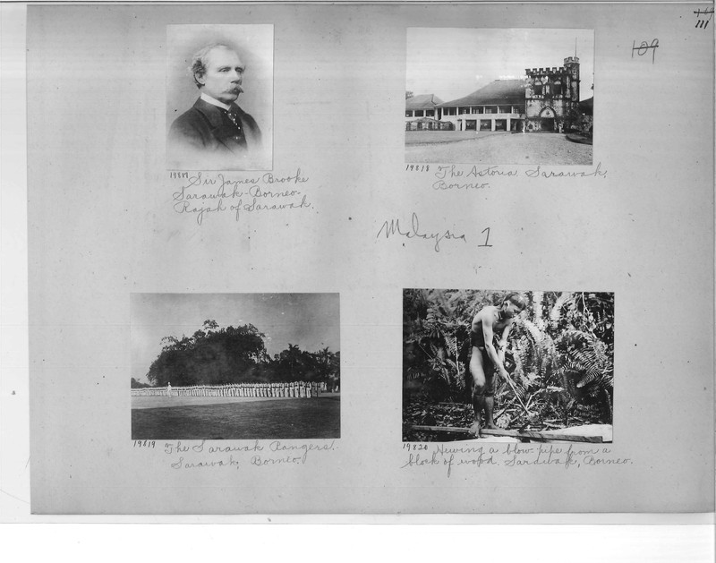 Mission Photograph Album - Malaysia #1 page 0111