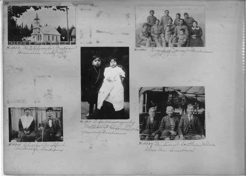 Mission Photograph Albums - Indians #1 page 0010