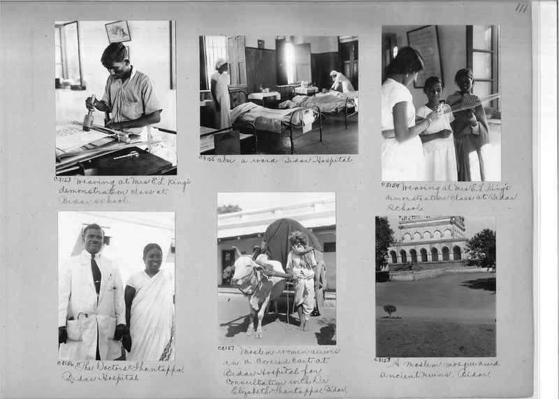 Mission Photograph Album - India #13 Page 0111