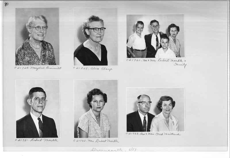 Mission Photograph Album - Portraits #10 Page 0080
