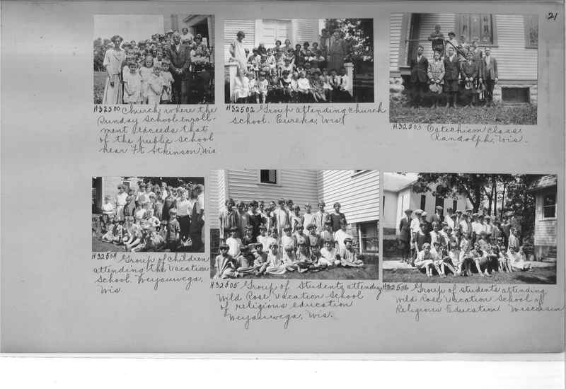 Mission Photograph Album - Religious Education #1 page 0021
