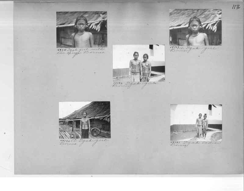 Mission Photograph Album - Malaysia #5 page 0113
