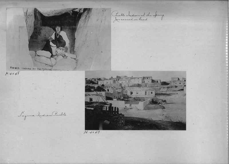 Mission Photograph Albums - Indians #1 page 0078