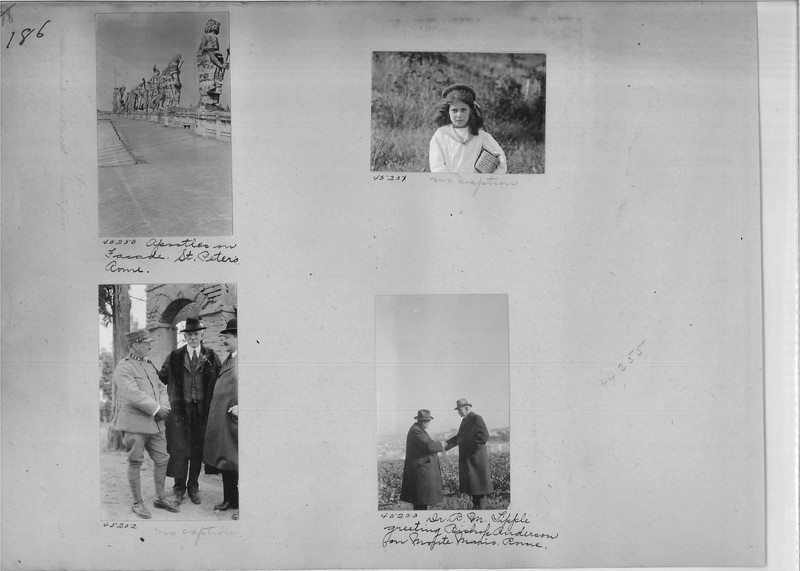 Mission Photograph Album - Europe #02 Page 0186