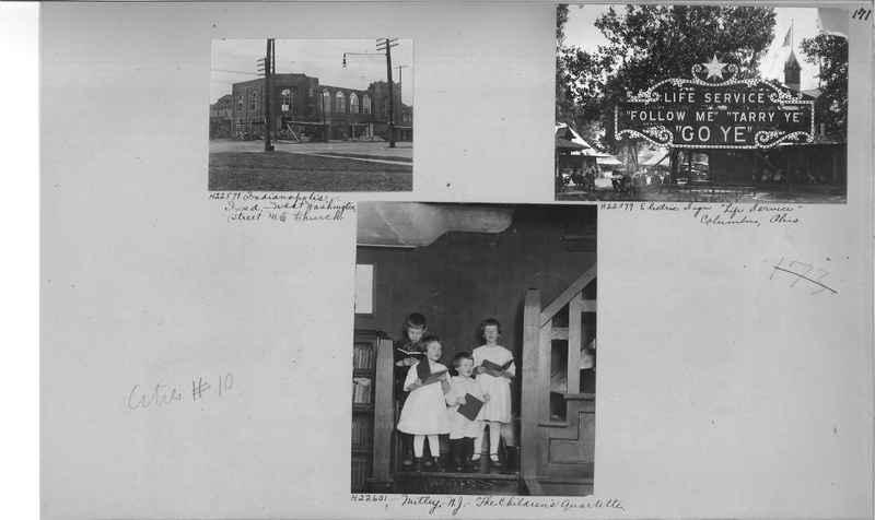 Mission Photograph Album - Cities #10 page 0171