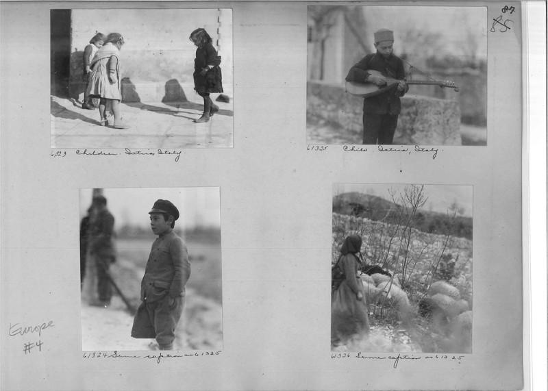 Mission Photograph Album - Europe #04 Page 0087