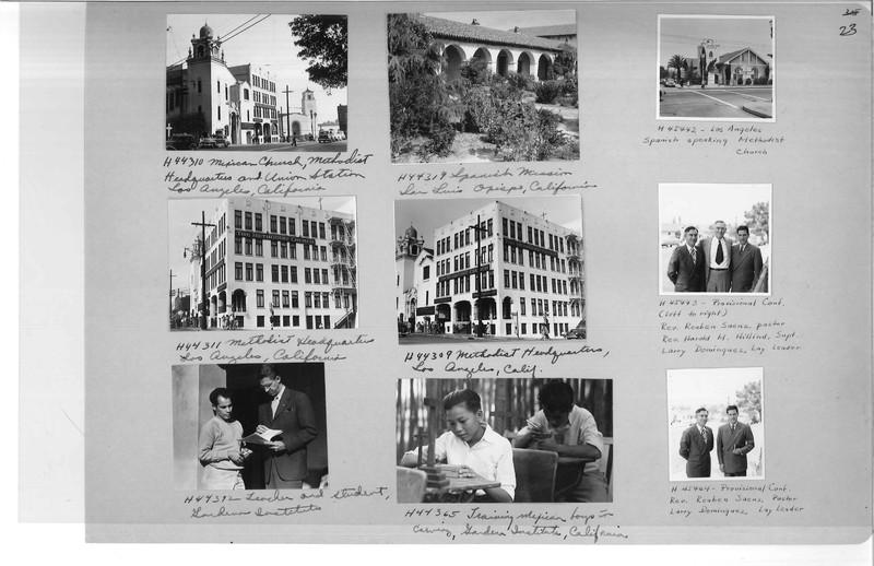 Mission Photograph Album - Latin America #3 page 0023