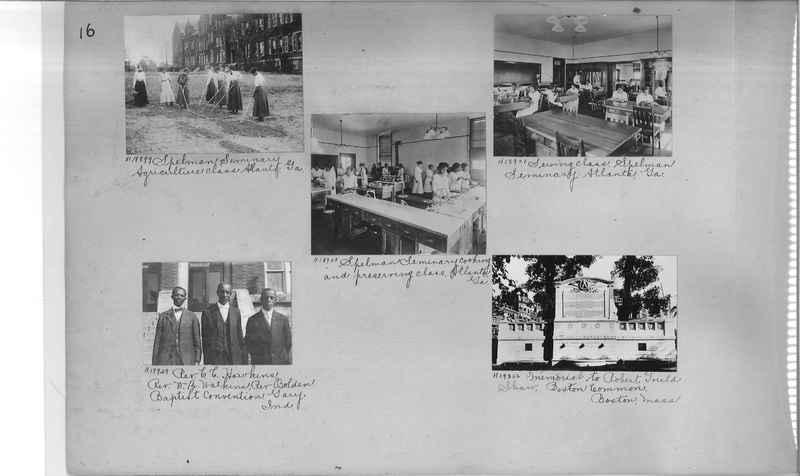 Mission Photograph Album - Negro #3 page 0016