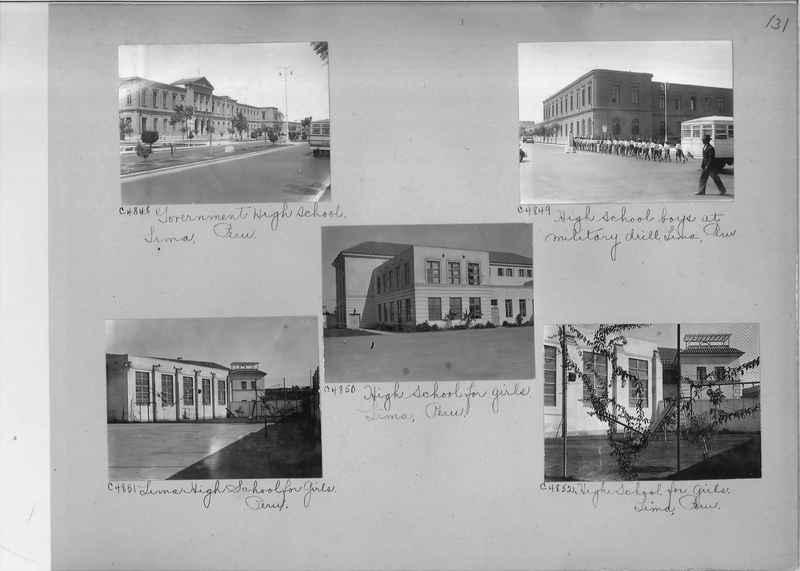 Misson Photograph Album - South America #8 page 0131