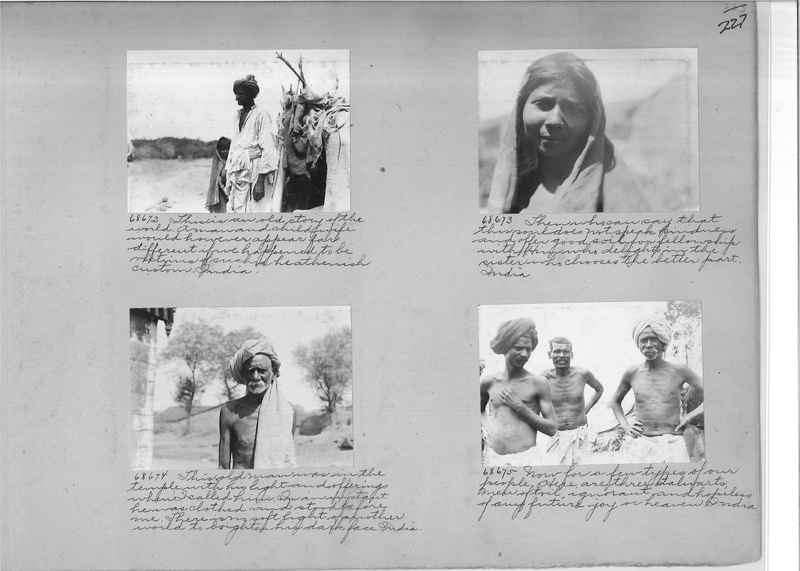 Mission Photograph Album - India #08 Page 0227