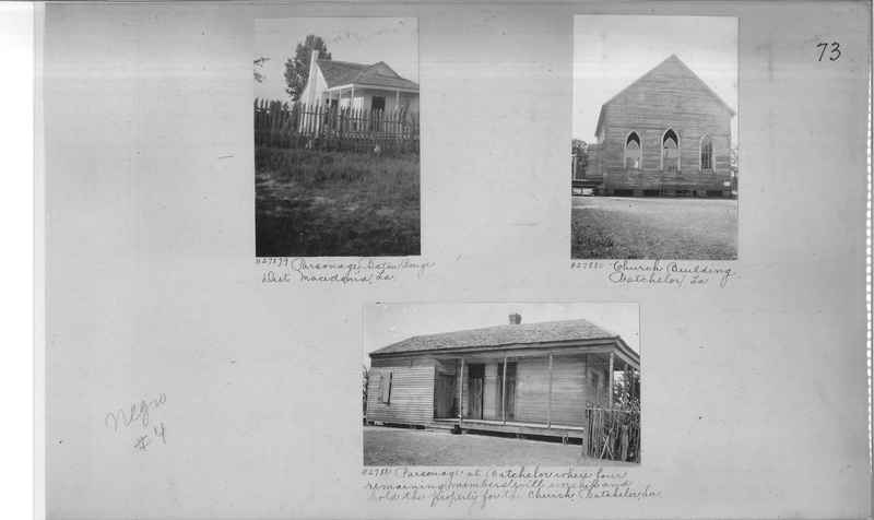 Mission Photograph Album - Negro #4 page 0073