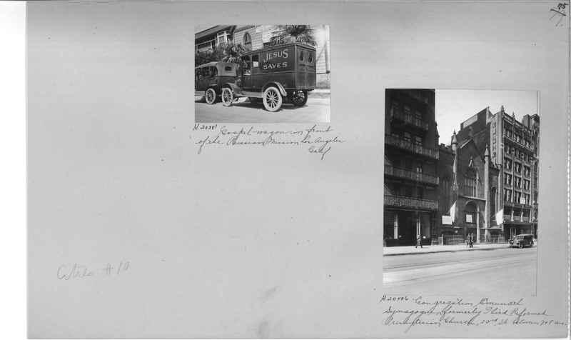 Mission Photograph Album - Cities #10 page 0075