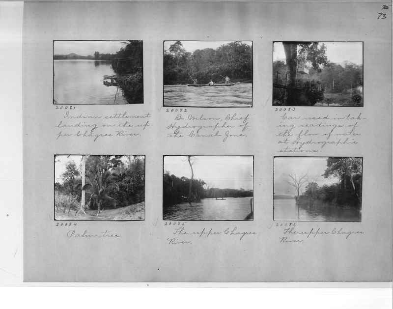 Mission Photograph Album - Panama #1 page  0073