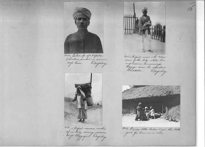 Mission Photograph Album - India #09 Page 0115