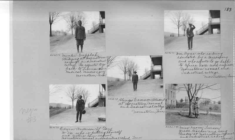 Mission Photograph Album - Negro #3 page 0183