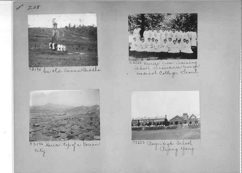 Mission Photograph Album - Korea #5 page 0208