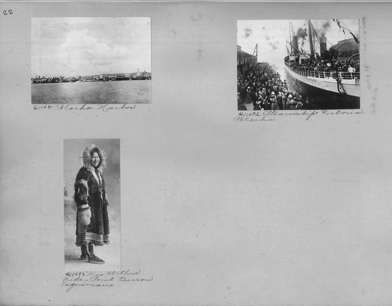 Mission Photograph Album - Alaska #1 page 0022