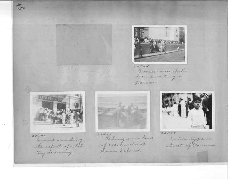 Mission Photograph Album - Panama #1 page  0156