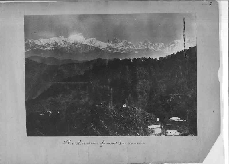 Mission Photograph Album - India - O.P. #01 Page 0007