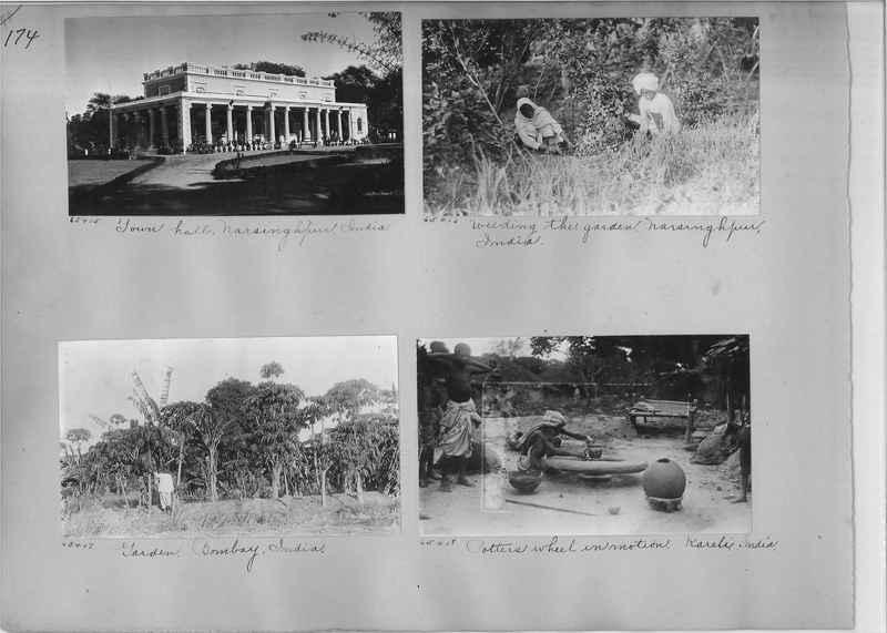 Mission Photograph Album - India #08 Page 0174