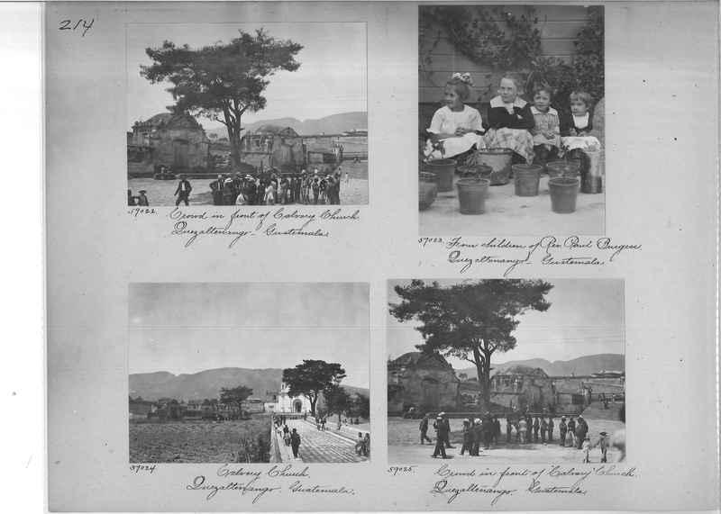 Mission Photograph Album - Panama #02 page 0214