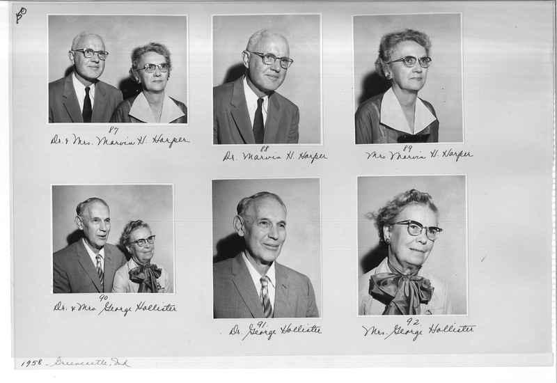 Mission Photograph Album - Portraits #10 Page 0150