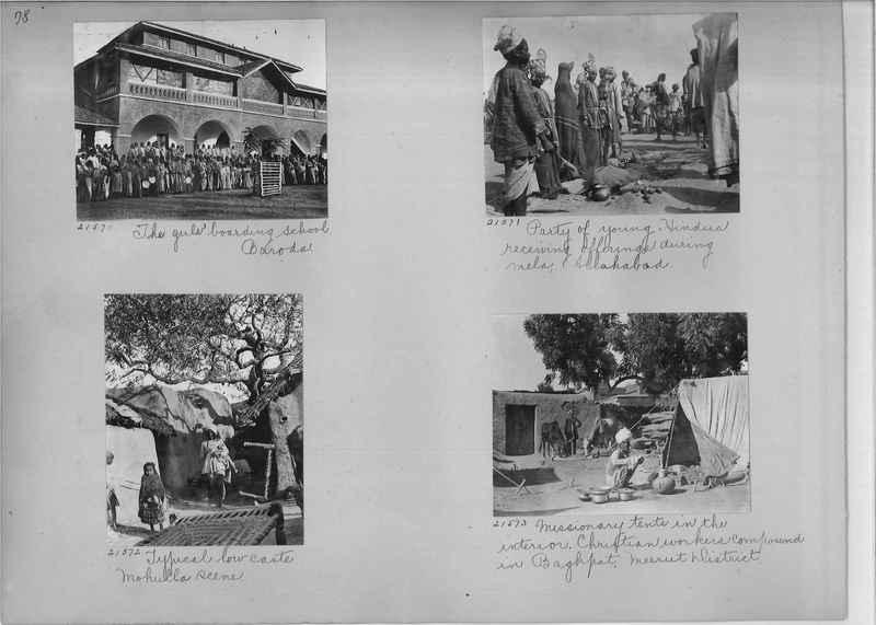 Mission Photograph Album - India #03 page_0078