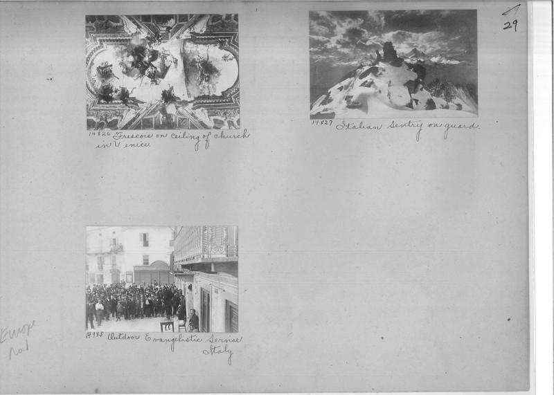 Mission Photograph Album - Europe #01 Page 0029