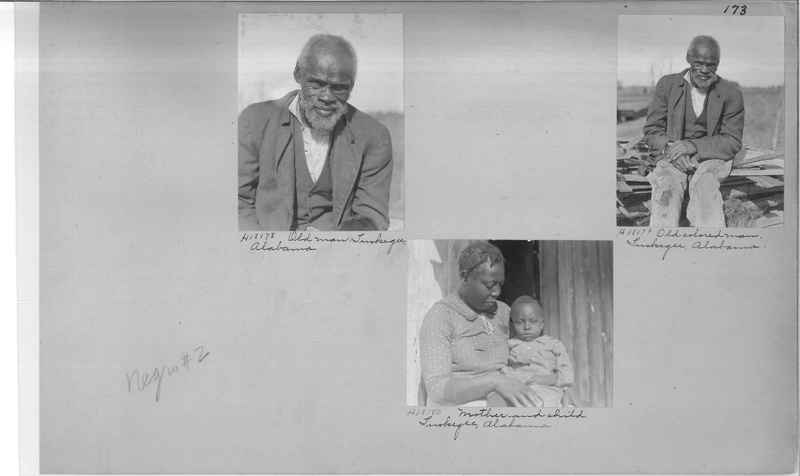 Mission Photograph Album - Negro #2 page 0173