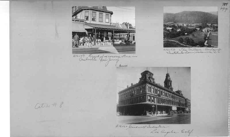 Mission Photograph Album - Cities #8 page 0189