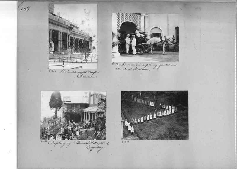 Mission Photograph Album - India #09 Page 0108