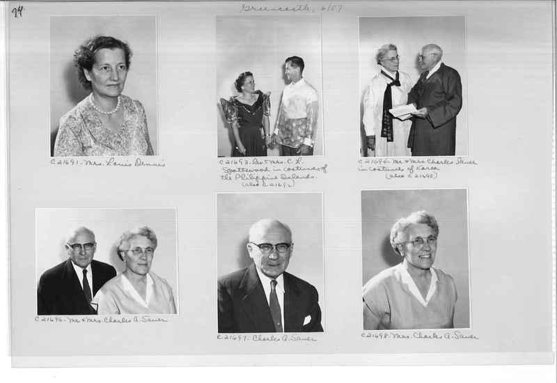 Mission Photograph Album - Portraits #10 Page 0074