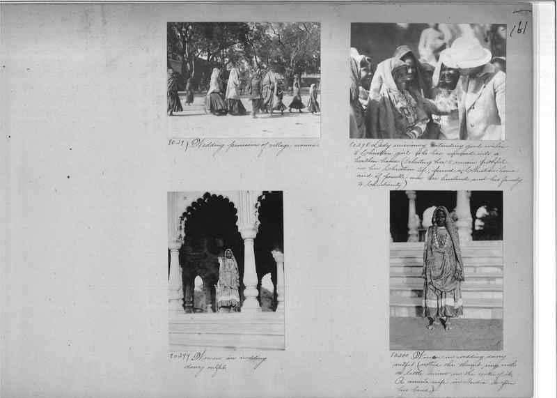 Mission Photograph Album - India #09 Page 0161