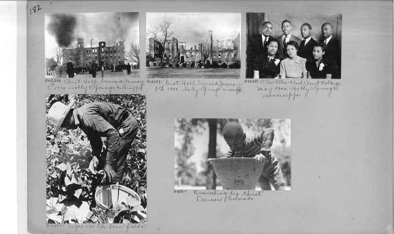 Mission Photograph Album - Negro #6 page 0182