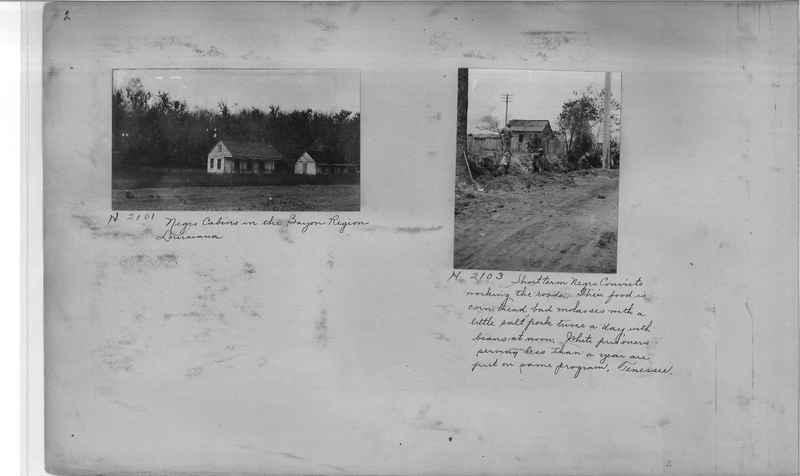 Mission Photograph Album - Negro #1 page 0002