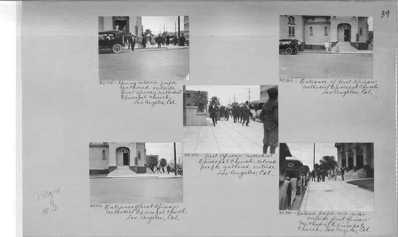 Mission Photograph Album - Negro #3 page 0039
