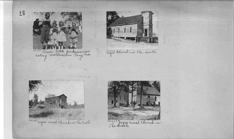 Mission Photograph Album - Negro #4 page 0028
