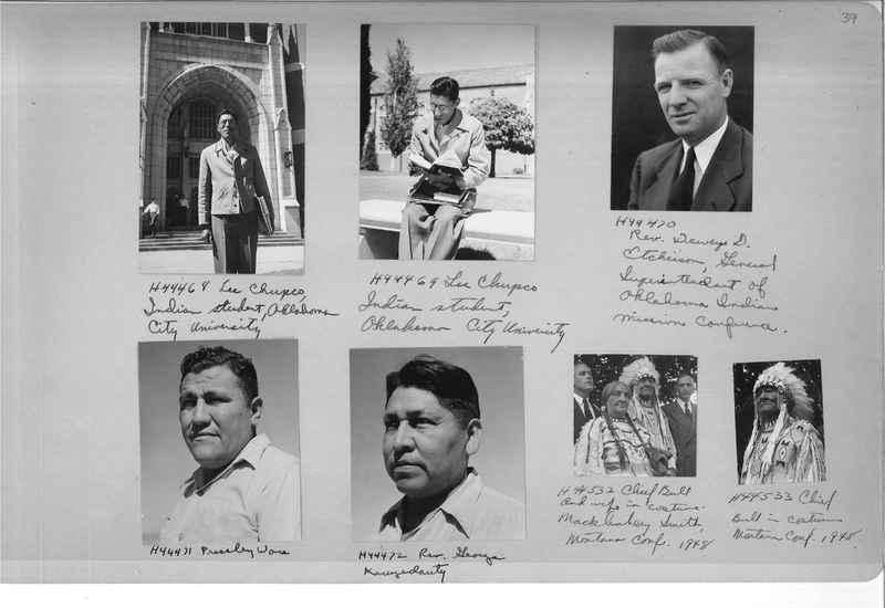 Mission Photograph Albums - Indians #3 Page_0039