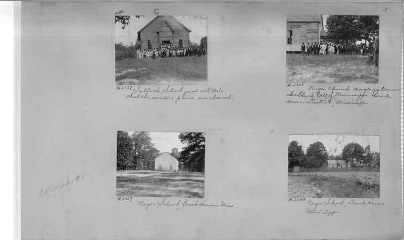 Mission Photograph Album - Negro #1 page 0005
