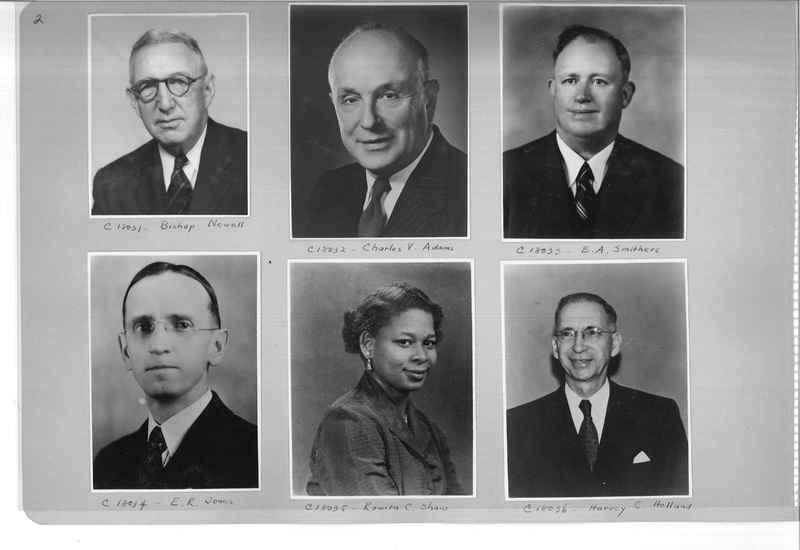 Mission Photograph Album - Portraits #08 Page 0002