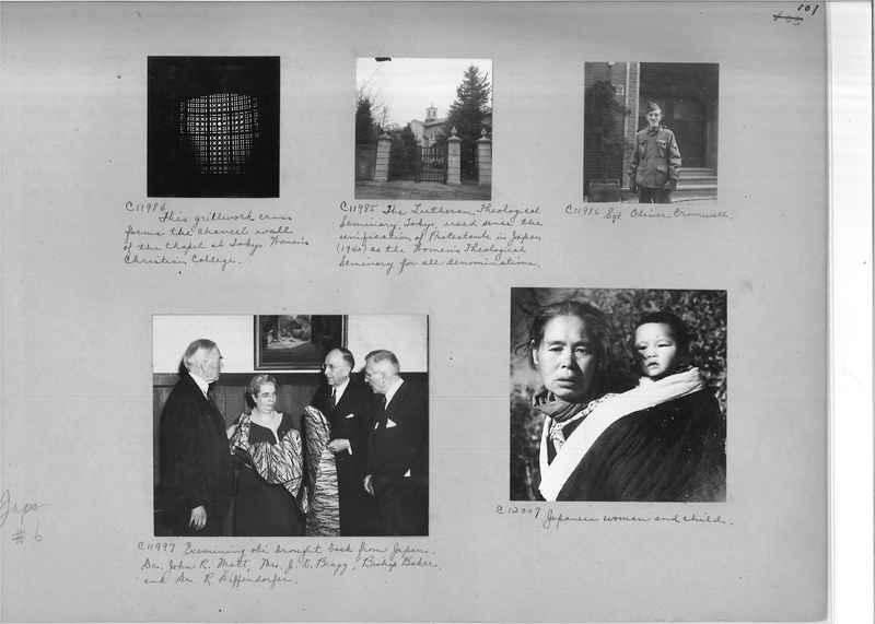 Mission Photograph Album - Japan #06 Page 0101