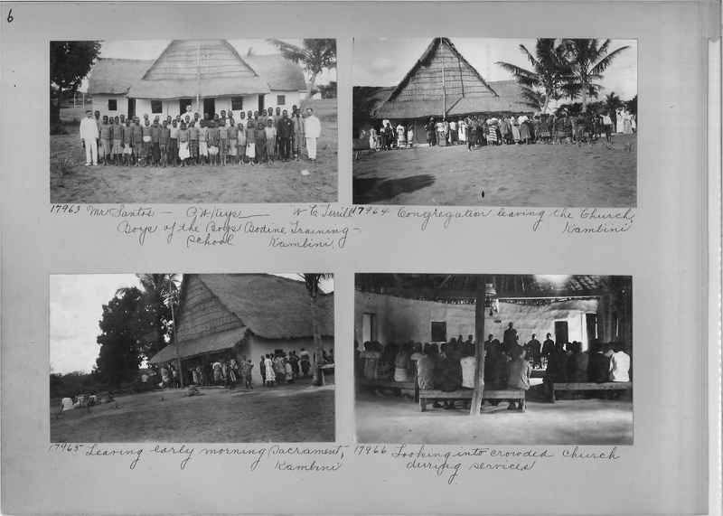 Mission Photograph Album - Africa #4 page 0006