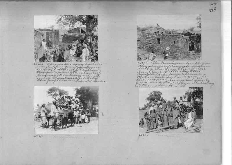 Mission Photograph Album - India #08 Page 0213
