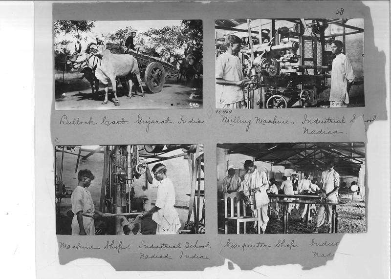 Mission Photograph Album - India - O.P. #02 Page 0028
