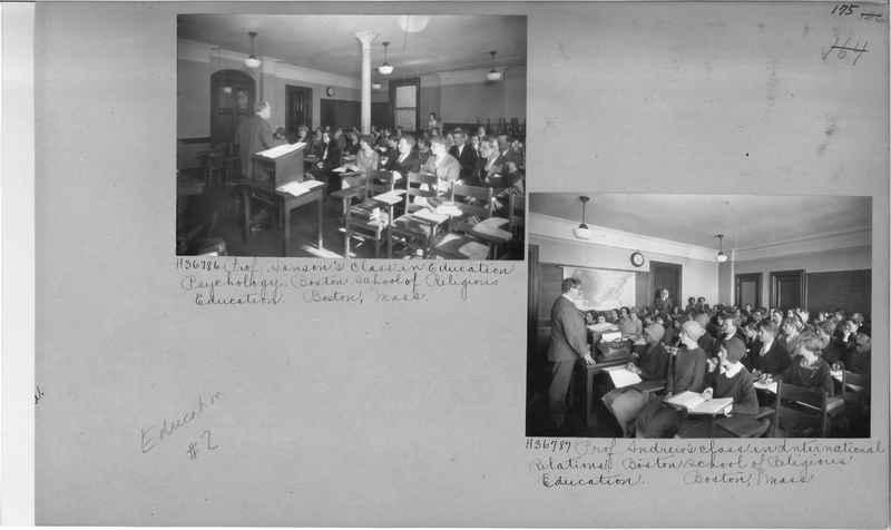 Mission Photograph Album - Education #2 page 0175