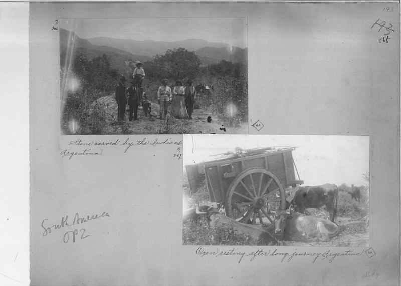 Mission Photograph Album - South America O.P. #2 page 0165